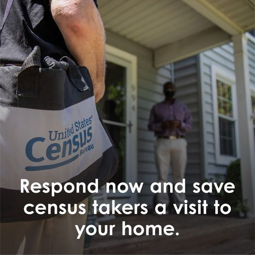 Respond now and save census takers a visit image
